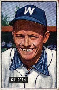 1951 Bowman #18 Gil Coan