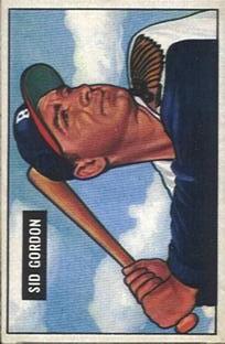 1951 Bowman #19 Sid Gordon