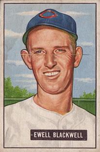 1951 Bowman #24 Ewell Blackwell