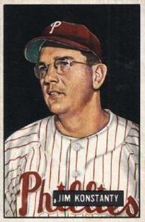 1951 Bowman #27 Jim Konstanty