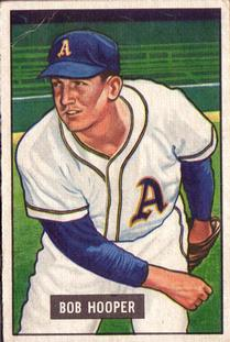 1951 Bowman #33 Bob Hooper RC