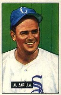 1951 Bowman #35 Al Zarilla