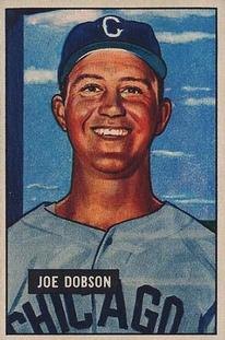 1951 Bowman #36 Joe Dobson