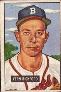 1951 Bowman #42 Vern Bickford