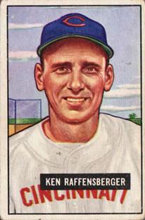 1951 Bowman #48 Ken Raffensberger