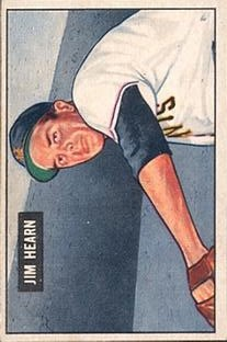 1951 Bowman #61 Jim Hearn