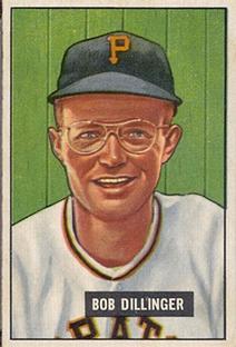 1951 Bowman #63 Bob Dillinger