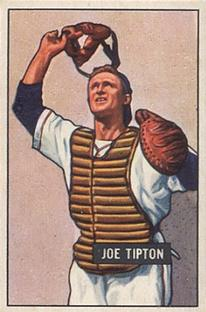 1951 Bowman #82 Joe Tipton