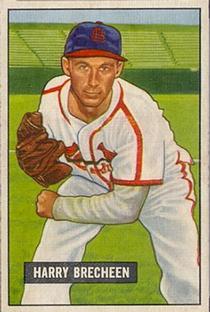 1951 Bowman #86 Harry Brecheen
