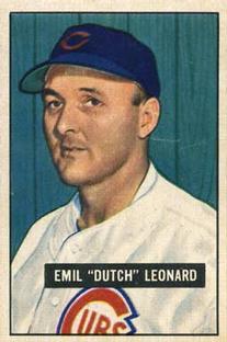 1951 Bowman #102 Dutch Leonard