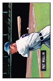 1951 Bowman #106 Pat Mullin