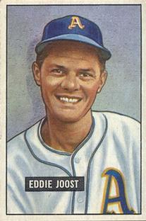 1951 Bowman #119 Eddie Joost