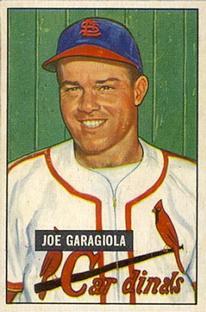 1951 Bowman #122 Joe Garagiola RC