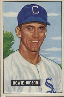 1951 Bowman #123 Howie Judson