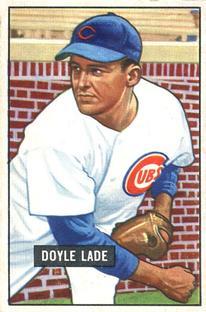 1951 Bowman #139 Doyle Lade