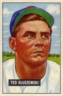 1951 Bowman #143 Ted Kluszewski