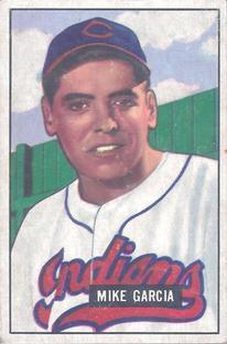 1951 Bowman #150 Mike Garcia