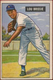 1951 Bowman #155 Lou Brissie