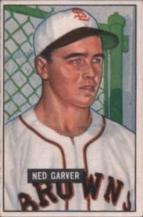 1951 Bowman #172 Ned Garver