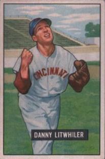 1951 Bowman #179 Danny Litwhiler