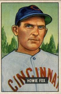 1951 Bowman #180 Howie Fox