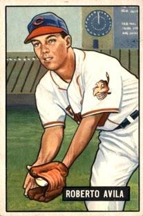 1951 Bowman #188 Bobby Avila RC
