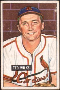 1951 Bowman #193 Ted Wilks