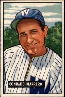 1951 Bowman #206 Conrado Marrero RC