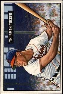 1951 Bowman #222 Thurman Tucker RC