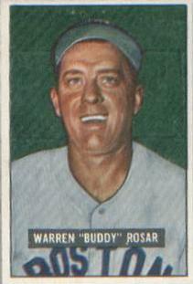 1951 Bowman #236 Buddy Rosar