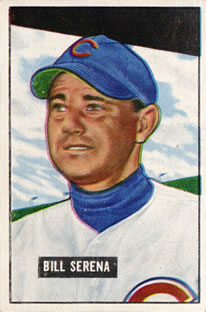 1951 Bowman #246 Bill Serena