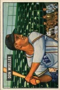 1951 Bowman #268 Don Mueller
