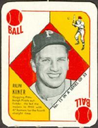 1951 Topps Red Backs #15 Ralph Kiner