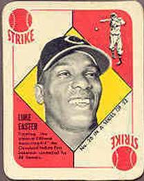 1951 Topps Red Backs #26 Luke Easter RC