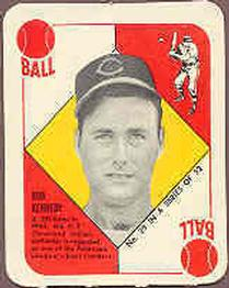1951 Topps Red Backs #29 Bob Kennedy RC
