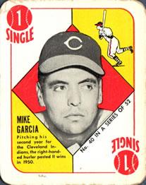 1951 Topps Red Backs #40 Mike Garcia