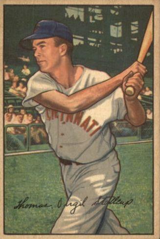 1952 Bowman #6 Virgil Stallcup