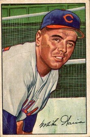 1952 Bowman #7 Mike Garcia