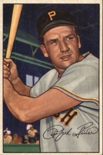 1952 Bowman #11 Ralph Kiner
