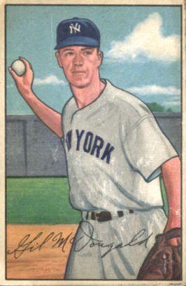 1952 Bowman #33 Gil McDougald RC