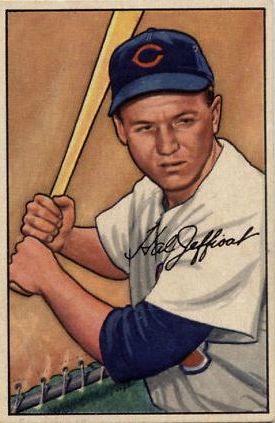 1952 Bowman #104 Hal Jeffcoat