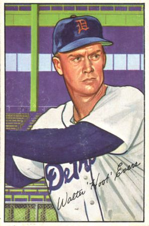 1952 Bowman #111 Hoot Evers