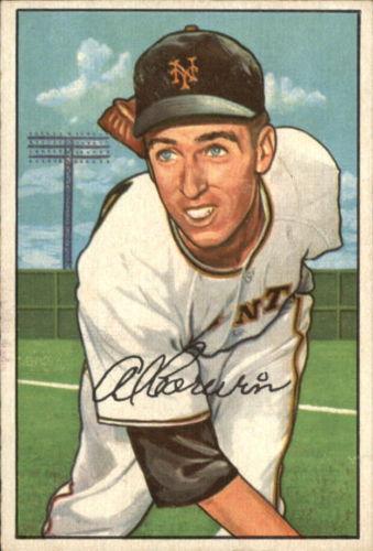 1952 Bowman #121 Al Corwin RC