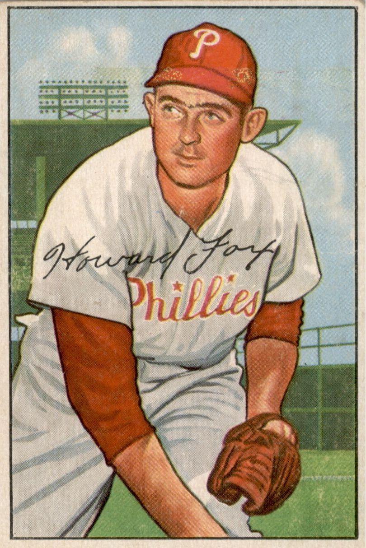 1952 Bowman #125 Howie Fox