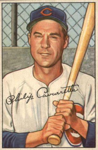 1952 Bowman #126 Phil Cavarretta