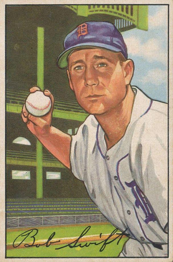 1952 Bowman #131 Bob Swift