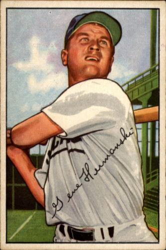 1952 Bowman #136 Gene Hermanski