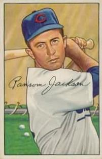 1952 Bowman #175 Randy Jackson RC