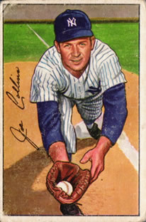 1952 Bowman #181 Joe Collins RC