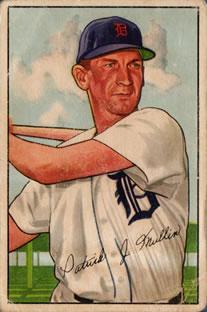 1952 Bowman #183 Pat Mullin